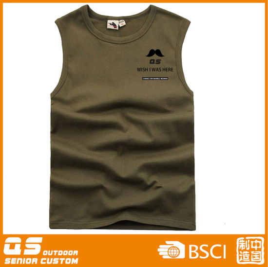 Men′s Running Sports Vest pictures & photos