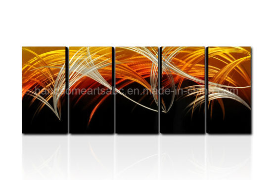 Abstract Design Metal Oil Painting / Metal Wall Arts Decor