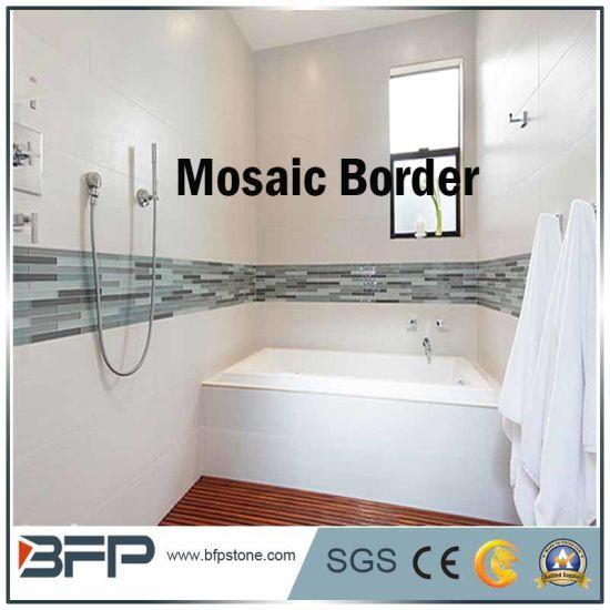 Bathroom Tile Border Image Of
