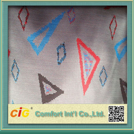 Knitting Jacquard Fabric for Car Seat Cover pictures & photos