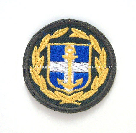 Custom Cloth Embroidery Police Badges pictures & photos