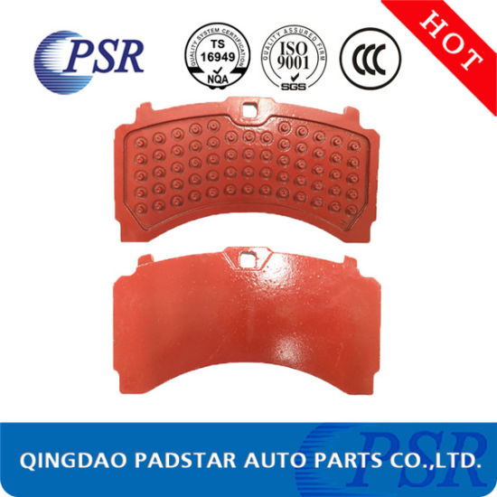 E-MARK Brake Pads Steel Backing Plate for Volvo Truck Parts for Mercedes-Benz pictures & photos