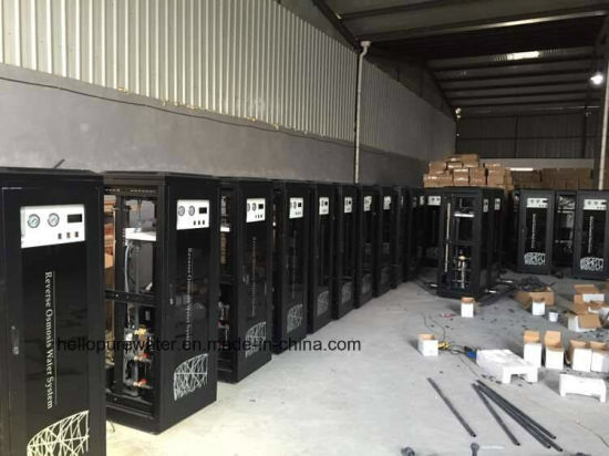 1500GPD Black Cabinet Series RO Purification System