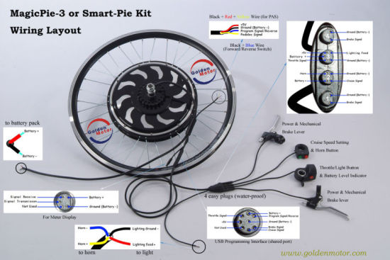Electric Bike Conversion Kit 48V 1000W pictures & photos