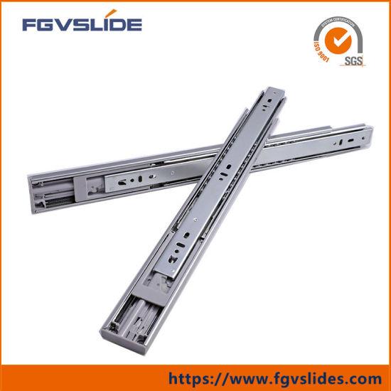 China 45mm Furniture Hardware Kitchen Cabinet Drawer Slides ...