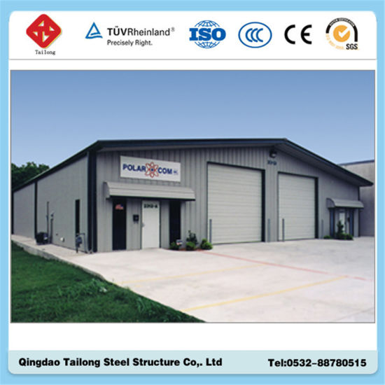 Corrugated Steel Structure Prefabricated Warehouse Shed pictures & photos