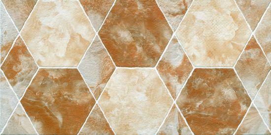 Hexagon Design Beige Color Matt Wall Tile Porcelain 300x600mm 36041 36042 36043 36044