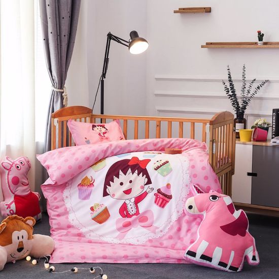 China Supplier Crib Baby Nursery Bedding