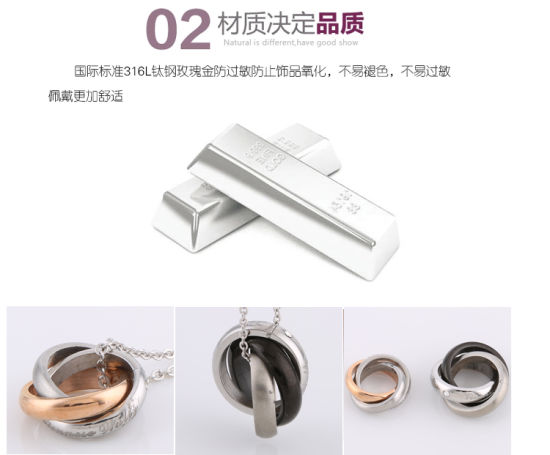 316L Pendant Fashion Stainless Steel Jewelry Necklace (hdx1041) pictures & photos