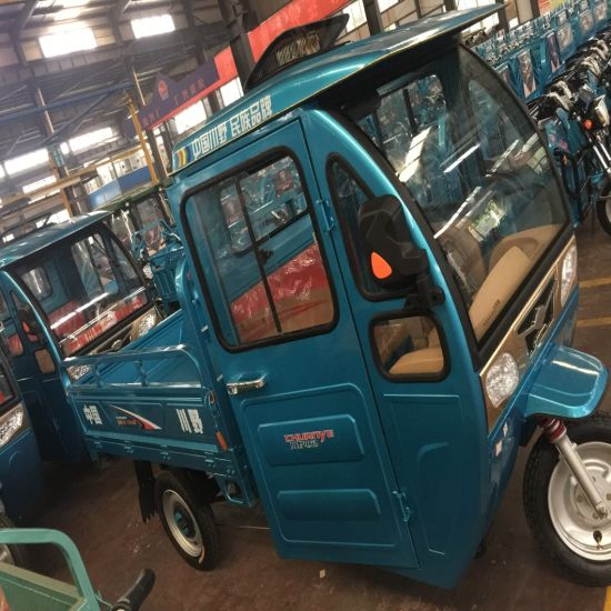 48V Electric 110cc Hybird Farm Tricycle with Large Cargo pictures & photos