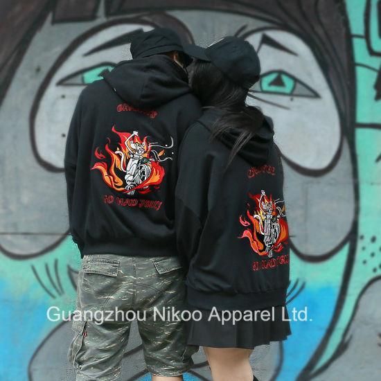 5762730728d China Custom Quality Embroidered Couple Hoodies Sweatshirts - China ...