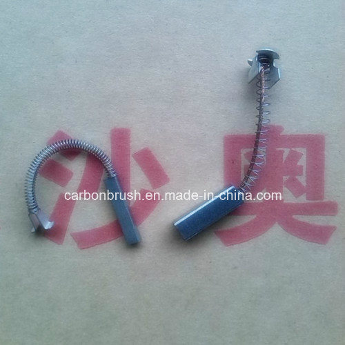 manufacturering silver graphite carbon brush J390 pictures & photos