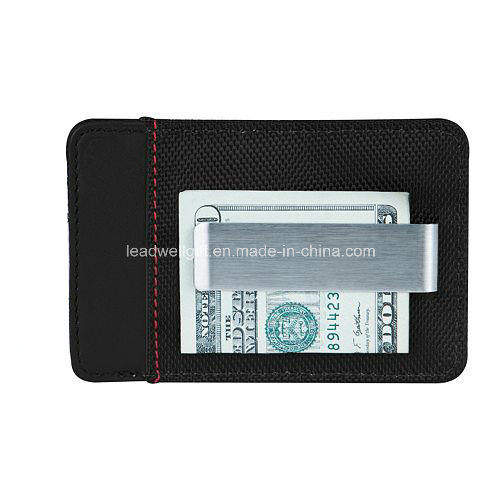 Leather Money Clip Wallet Pocket Wallet pictures & photos