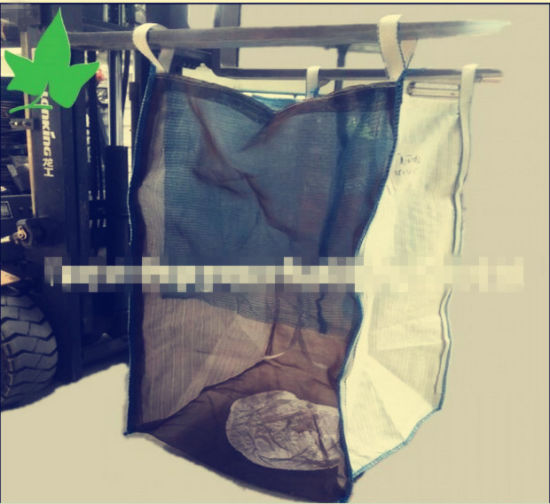 100% Raw Material Big Bags for Firewood, Ventilated Fabric
