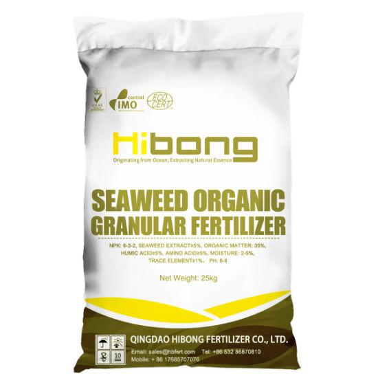 Different Types of Seaweed Organic Fertilizer, Organic Granular Fertilizer