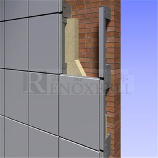 China Building Material Aluminum Curtain Wall Panel, Exterior ...
