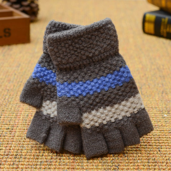 564ee8147 Colorful Winter Custom Acrylic Magic Gloves Fashion Knitting Glove  Fingerless