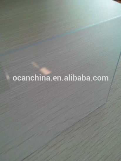 Clear 1mm Thick Plastic PVC Sheet for Hot Bending/Cold Bending, Rigid PVC Sheet pictures & photos