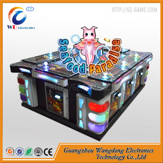 China Best Fishing Table Game Machine Fire Kirin Fish Arcade Cabinet