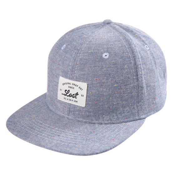 8a7864dae4dee1 Chambray Oxford Snapback Woven Applicate New Fashion Era Sport Cap pictures  & photos