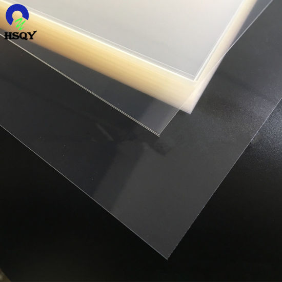 Super Clear 0.16 - 1mm Thick Transparent Rigid Pet Sheets for Thermoforming Packaging