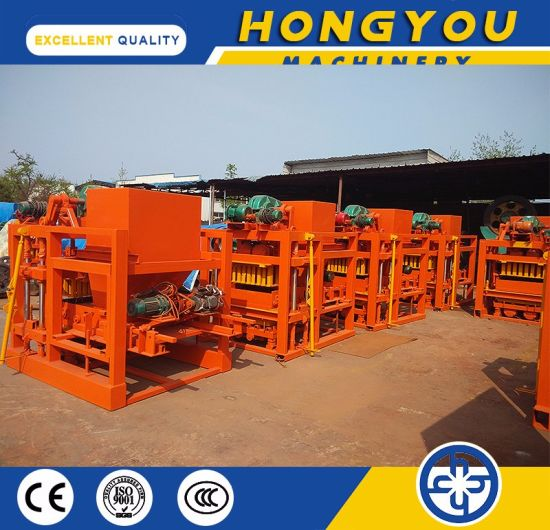 Qt4-25 Concrete Block Road Construction Machinery for Home Investment pictures & photos
