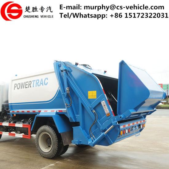 Dongfeng Sinotruk 4X2 8cbm 10cbm Compactor Garbage Truck