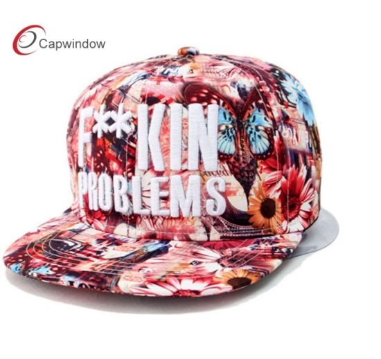 f002fec2 Custom Sublimation Printing Snapback Cap with 3D Embroidery pictures &  photos