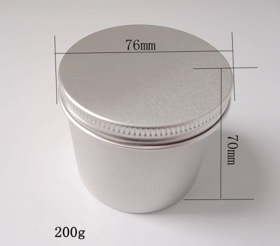 Aluminum Can/Aluminum Jar/Aluminum Tin/Aluminum Canister 200g pictures & photos