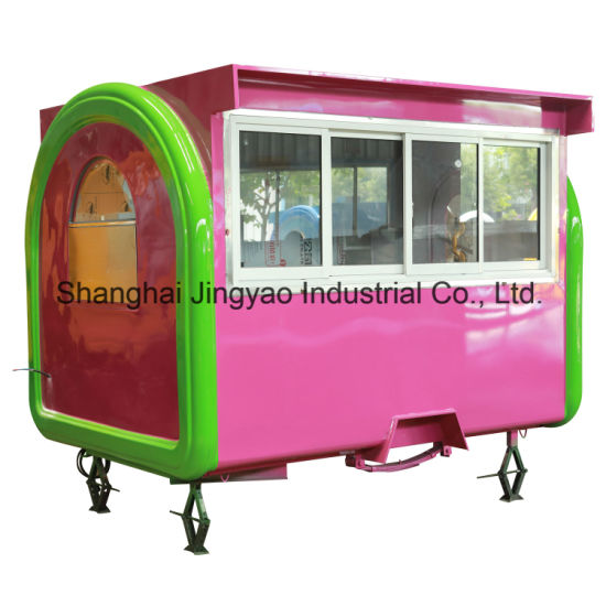 China Innovation New Outdoor Food Van Truck Mobile Shopping Food