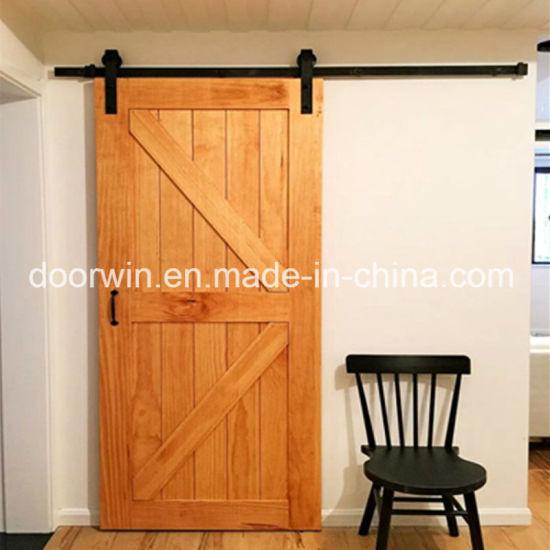 China North Central Us Oak Wood Sliding Door Indoor Doors for a ...