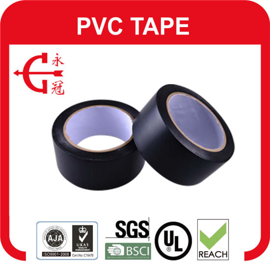 PVC Duct Adhesive Pipe Tape pictures & photos