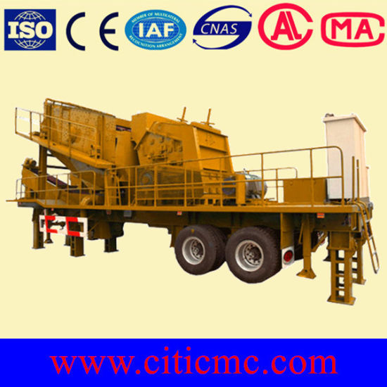Mobile Primary Jaw Crusher&Mobile Jaw Crusher pictures & photos