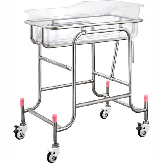 X01 Ce Factory Luxury Stainless Steel Baby Crib