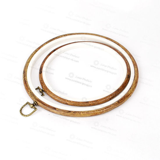 China Plastic Round Embroidery Hoops With High Quality China