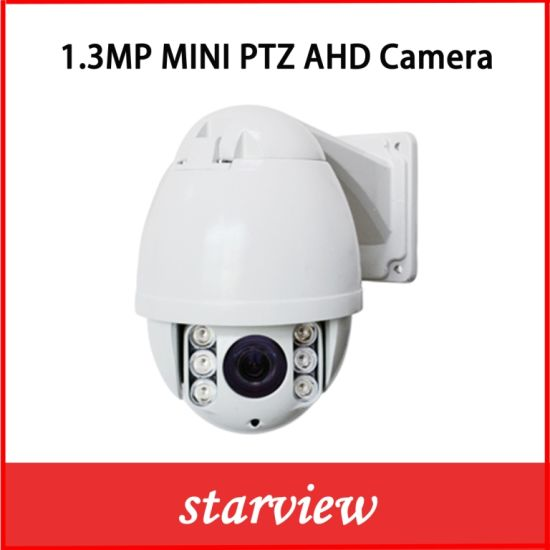 1.3MP Infrared Mini PTZ Ahd IR High Speed Dome Camera pictures & photos