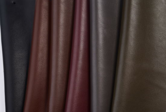 Embossed Synthetic Artificial Coated Vacuum Leather for Shoes Bags