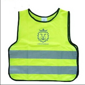 100% Polyester Knitted Safety Children Vest Reflective Vest