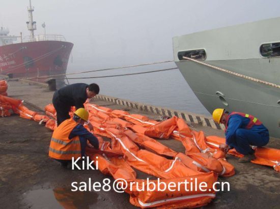Export Solid Float Boom, Rubber Oil Boom, PVC Oil Boom pictures & photos