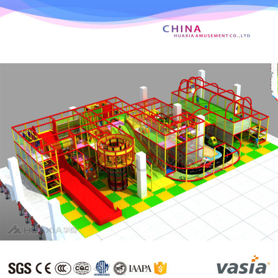 China Children Indoor Amazing Super Slide Playground For Sale