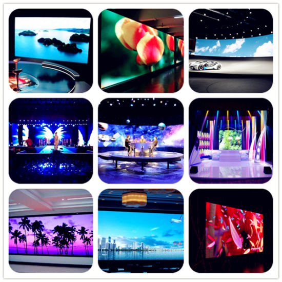 Good Unifromity P3.91 Indoor Full Color LED Display