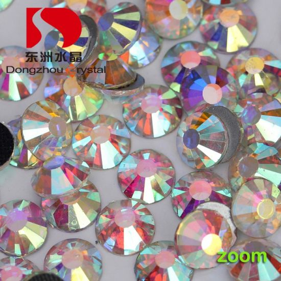DMC Crystal Ab Stone Non Hot Fix for Wedding Garment Accessory