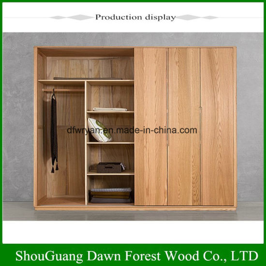 China Environmentally Friendly Modern Design Wooden Wardrobe China