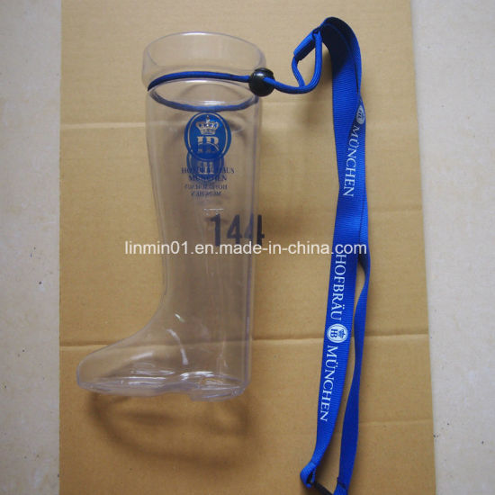 Customized Plastic Boot Party Yard Drinking Cup for Promotion Gift