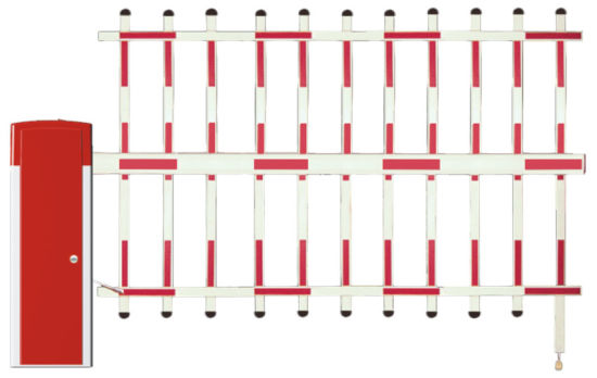 Safety Automatic Car Parking System/Parking System/Barrier Gate: BS-206