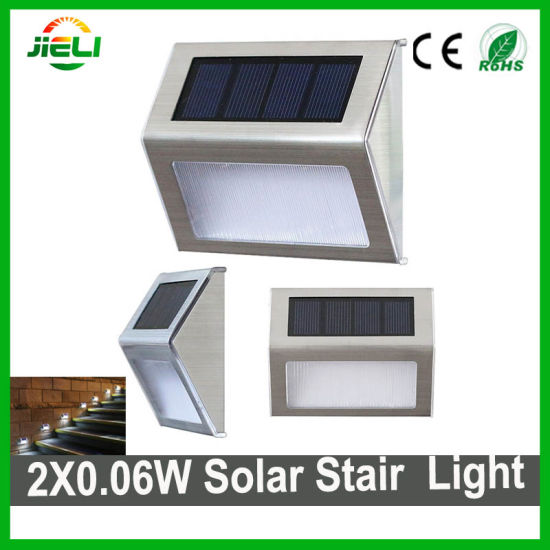 China outdoor led solar stair light 2x006w solare led corner light outdoor led solar stair light 2x006w solare led corner light aloadofball Choice Image