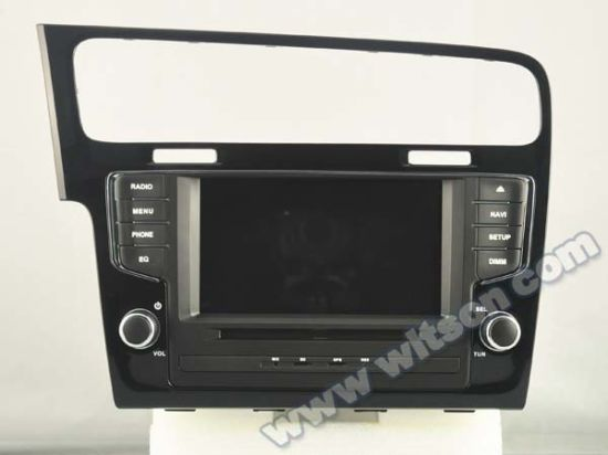 Witson Android 5.1 Car DVD for VW Golf7 2013 (A5521) pictures & photos