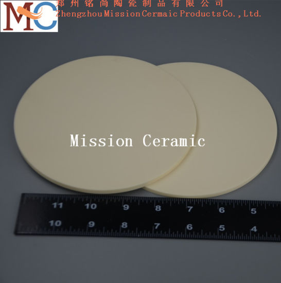 Insulating 99.7% 1800c Resistant Alumina Ceramic Plate pictures & photos