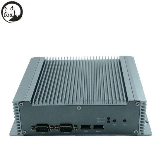 DC12V Fanless 3G Small System Atom N2800 Mini Industrial PC X86 pictures & photos