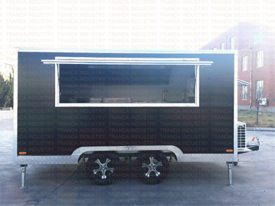 Fast Food Van Trailer pictures & photos
